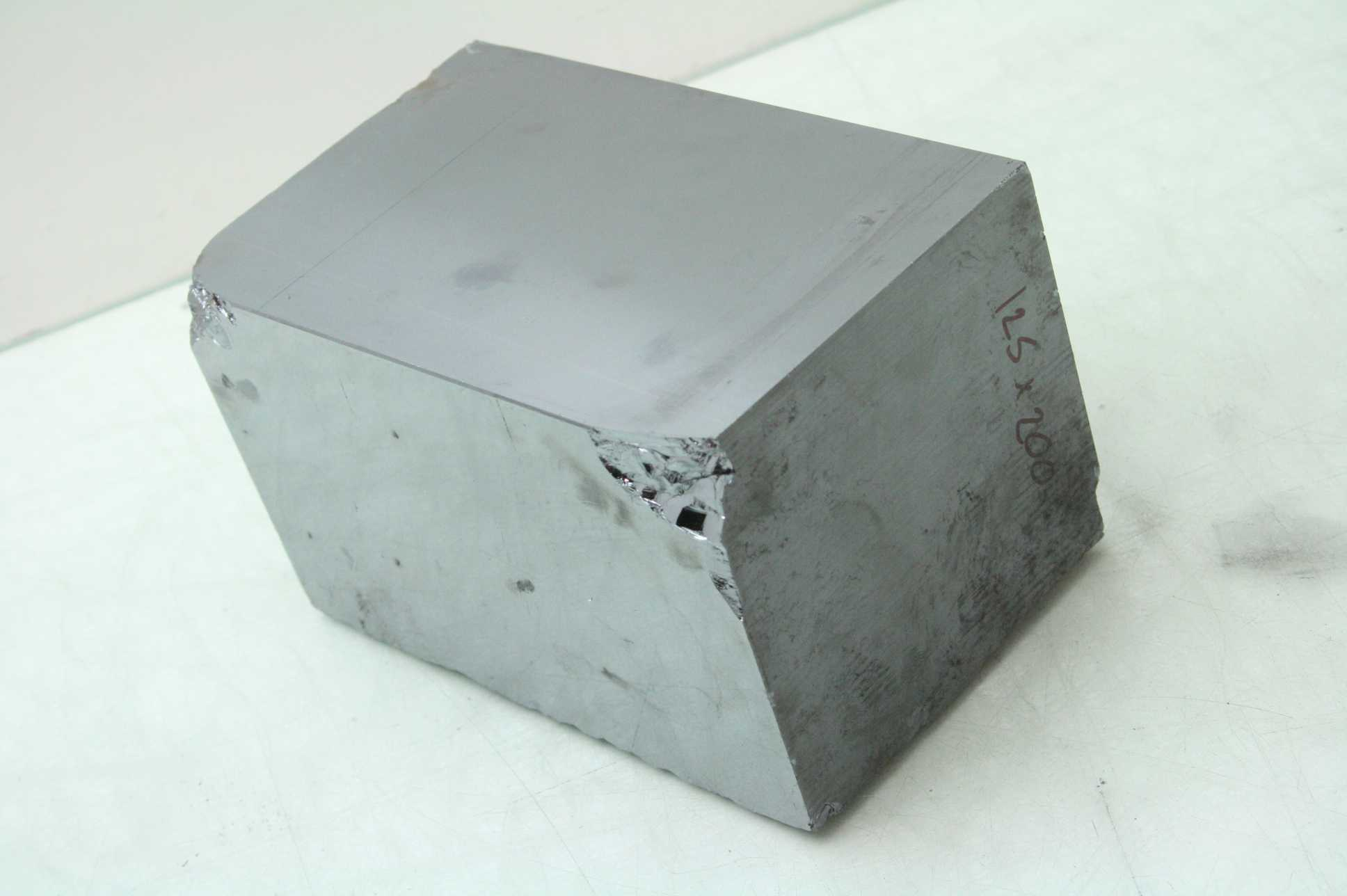 silicon block boule ingot 5 square x 8 long wire saw test sample ebay. Black Bedroom Furniture Sets. Home Design Ideas