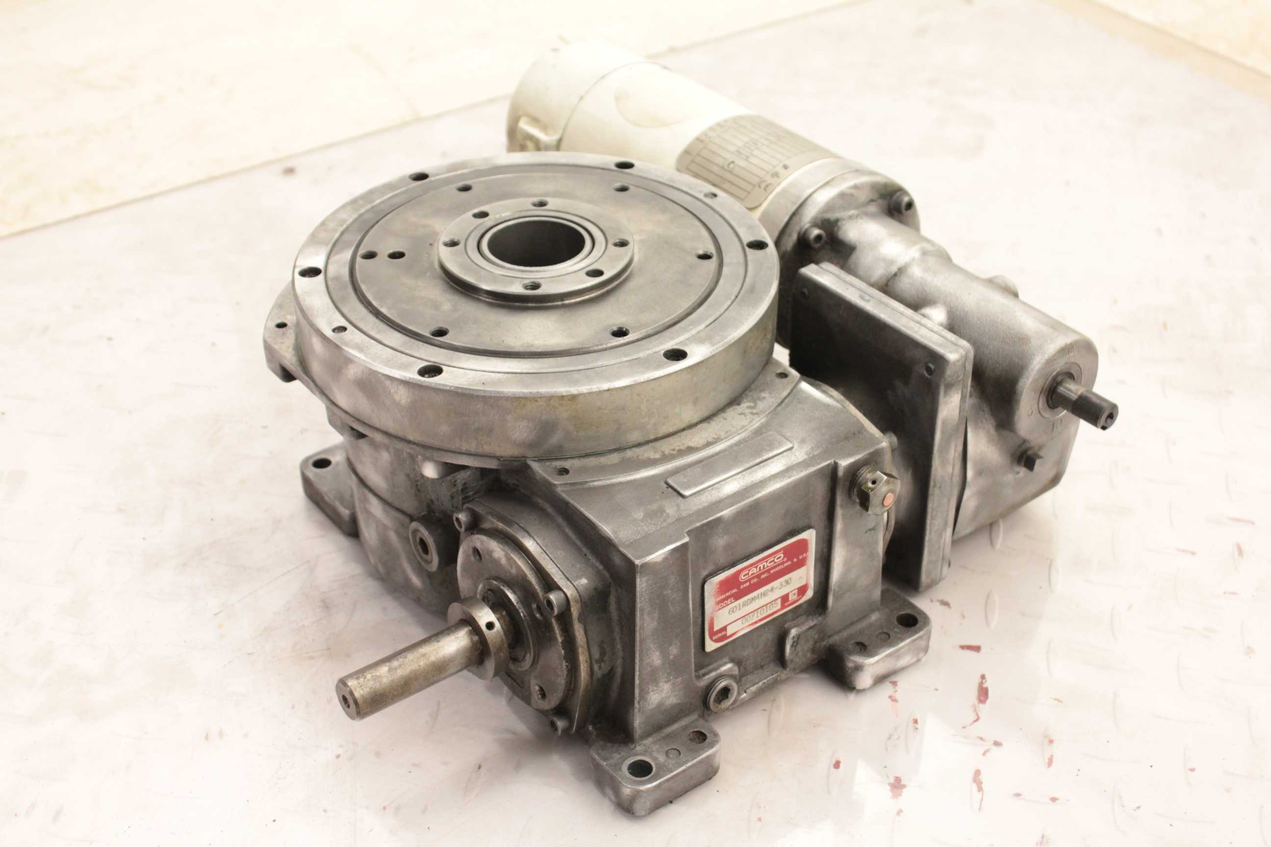 Camco 601rdm4h24 330 Rotary Indexer Drive Table Baldor 90v