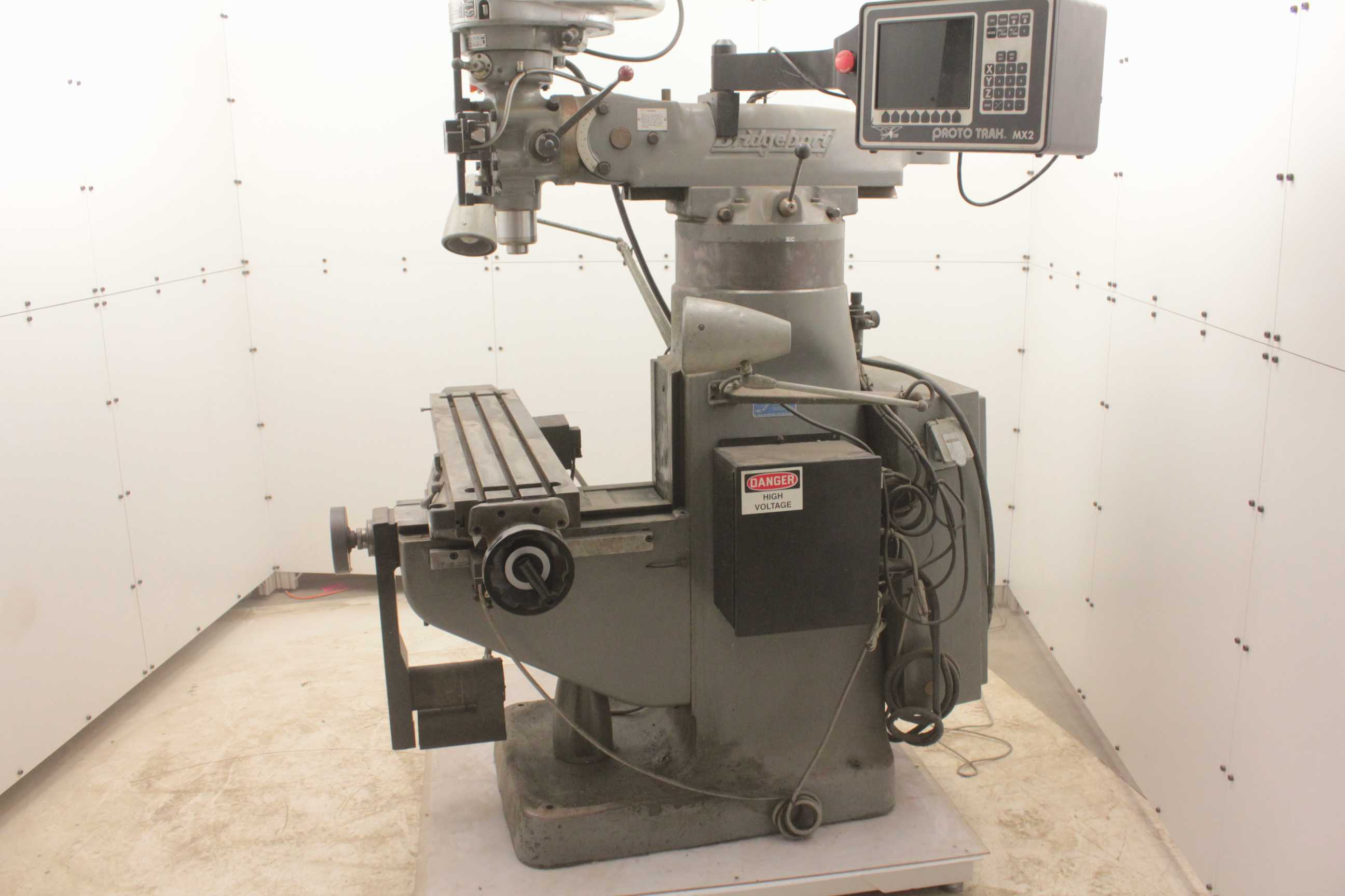 cnc milling machine auction